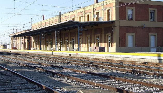 Estación de Castejón.