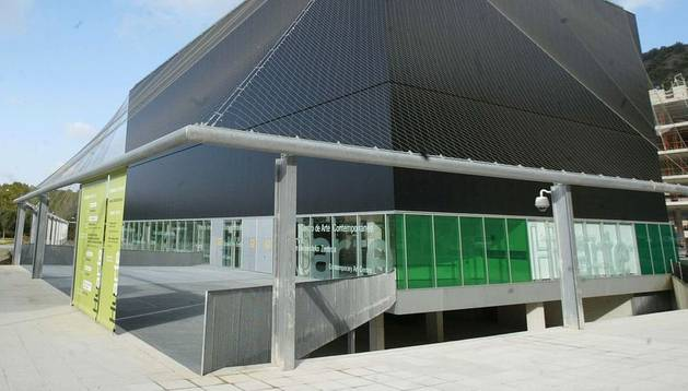 Exterior del Centro Huarte.