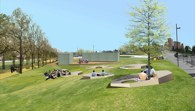 El parque de Lezkairu será el parque Alfredo Landa.