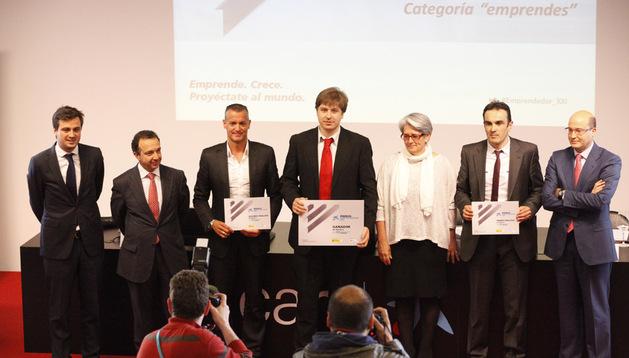 Ganadores del Premio Emprendedor XXI