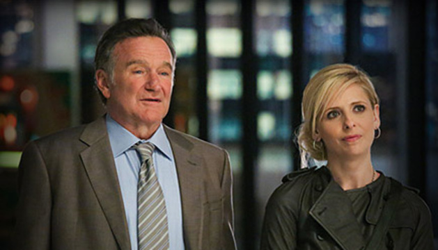 Robin Williams y Sarah Michelle Gellar.