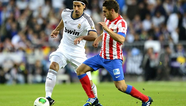 Imágenes del partido disputado este sábado en el Santiago Bernabéu