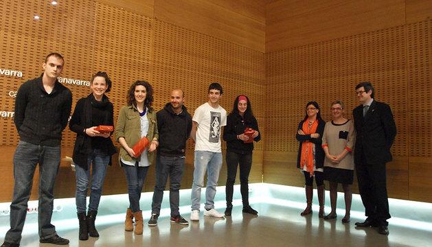 Ganadores del premio a la mejor aplicación móvil dentro del programa educativo Équilicuá.