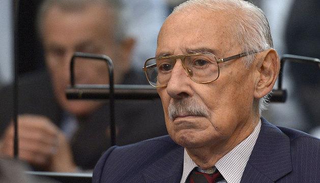 El exdictador argentino Jorge Rafael Videla.
