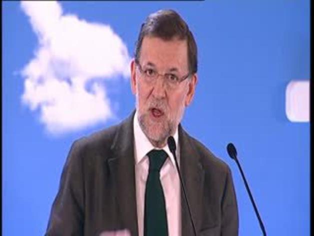 """Rajoy promete que se hará una """"distribución"""" ordenada del déficit"""