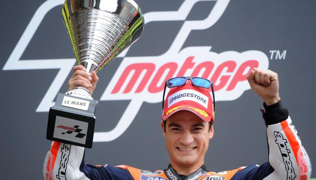 Dani Pedrosa, ganador en Le Mans.