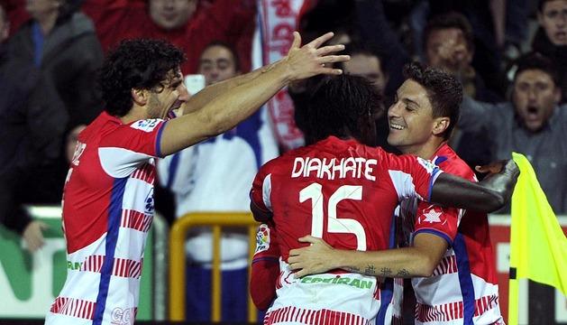 Derrota de Osasuna contra el Granada (3-0)