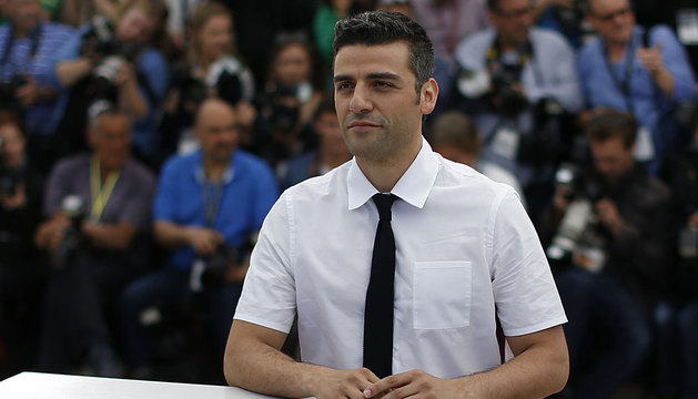 El actor Oscar Isaac, en Cannes.