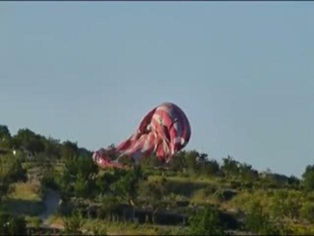 Accidente de un globo aerostático