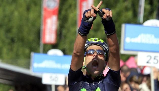 Beñat Intxausti dedicó su victoria al ciclista fallecido Xavi Tondo