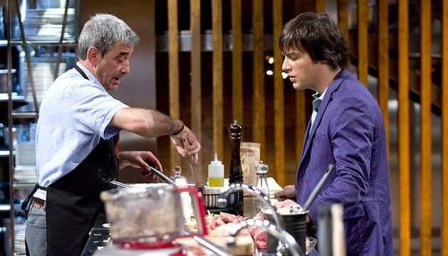 El navarro José Luis Asín, de 58 años, ha sido expulsado en el sexto programa del concurso de cocina 'Masterchef'.