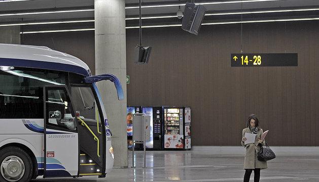Estación de Autobuses de Pamplona.