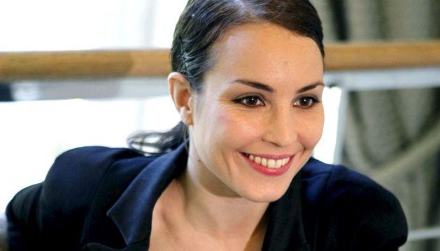 La actriz Noomi Rapace.