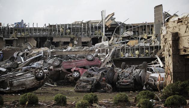 Obama ha declarado el estado de desastre en Oklahoma tras el paso del tornado.