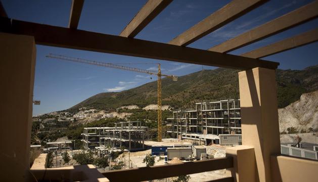 Viviendas en construcción en Benalmádena (Málaga)