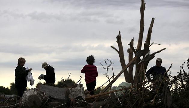 Un tornado arrasa Oklahoma City