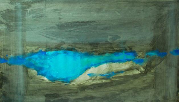 Imagen de una de las obras expuestas, cuyo autor es Juan José Martín Hernández