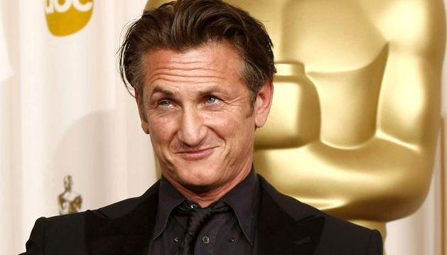 El actor estadonidense Sean Penn.