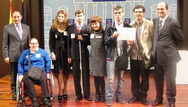 Los ESpcpieALISTAS reciben un premio en la Biblioteca Nacional