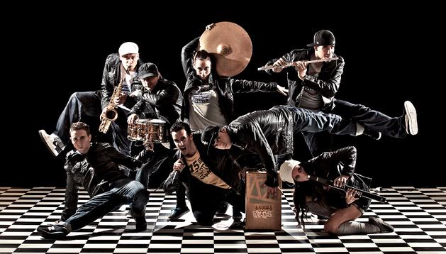 El grupo de artistas