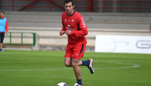 Miguel Flaño, defensa de Osasuna