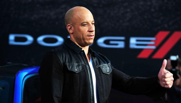 El actor Vin Diesel, en el preestreno de la sexta entrega de Fast&Furious en Los Ángeles