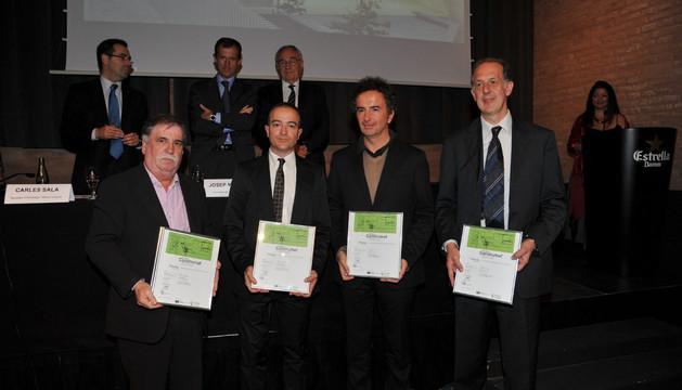 Los ganadores del premio Construmat