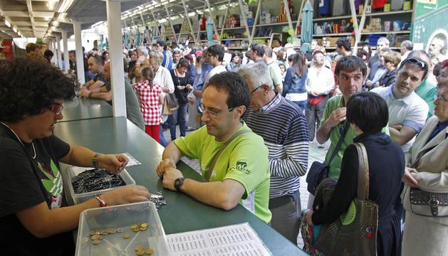 La Tómbola de Caritas de 2012 en Pamplona