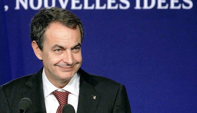 José Luis Rodríguez Zapatero, durante un acto en Cannes (Francia) en noviembre de 2011.