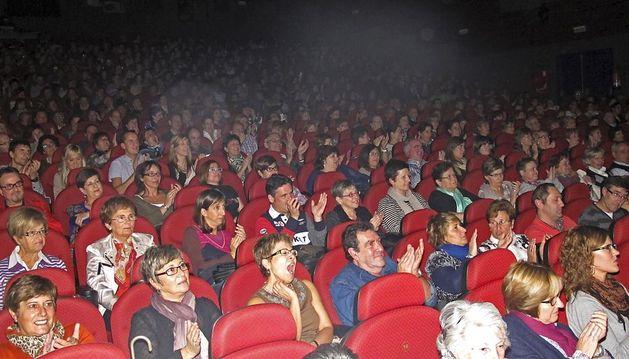 Una sala de cine de Estella.