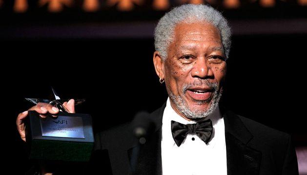 El actor Morgan Freeman.