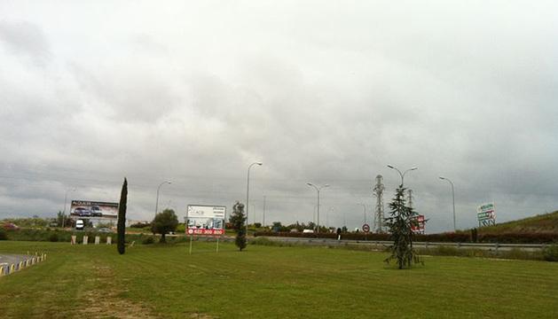 Los cielos han amanecido este sábado en Navarra nublados, aunque se espera que salga el sol durante la tarde