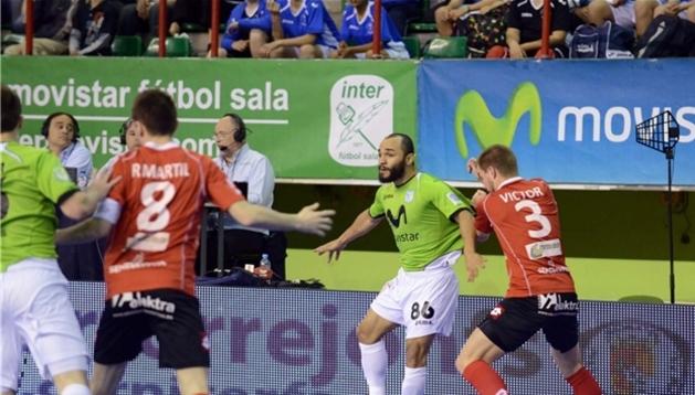 Triman ha caído eliminado tras perder en casa ante Inter Movistar