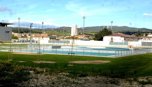 Las nuevas piscinas de la ciudad deportiva de tafalla se for Puerta 8 ciudad deportiva