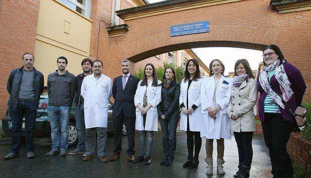 Miembros del equipo de investigadores y médicos participantes en el proyecto.