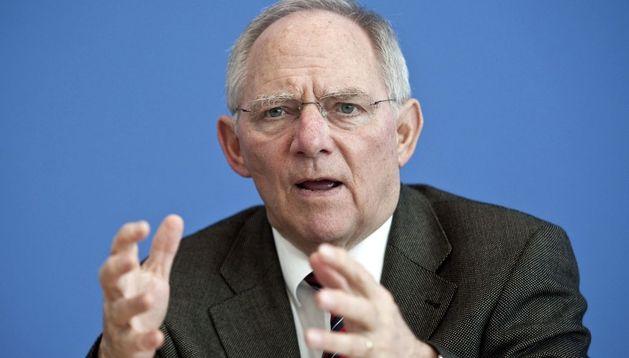 El ministro de Finanzas de Alemania, Wolfgang Schäuble.