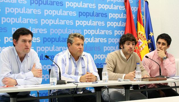 Concejales del PP de La Barranca.