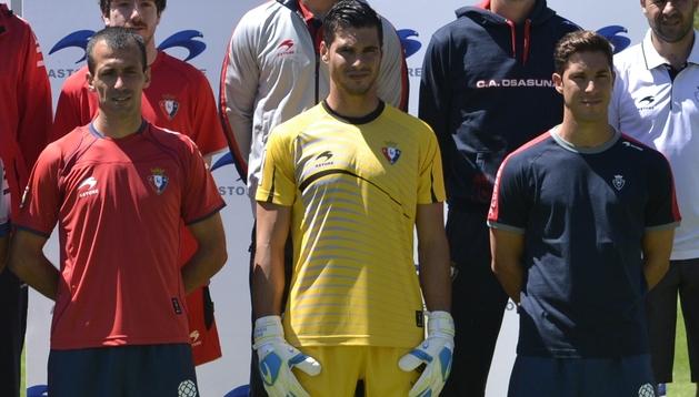 Puñal, Andrés Fernández y Cejudo, protagonistas del partido que supuso la permanencia de Osasuna en Primera División