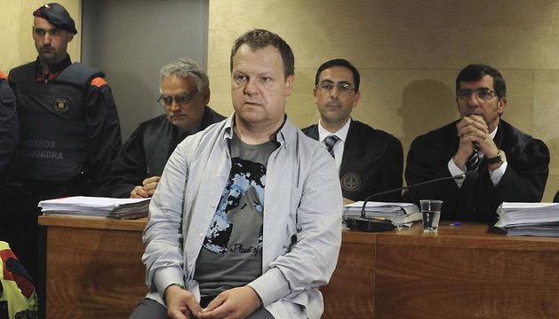 Joan Vila, celador del geriátrico La Caritat de Olot acusado de la muerte de 11 ancianos.