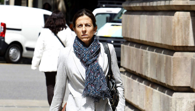 Anna Vidal, esposa del diputado de CDC Oriol Pujol.