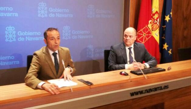 Rueda de prensa de Sánchez de Muniáin y Zarraluqui