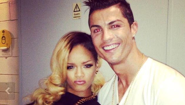 Rihanna y Cristiano Ronaldo.