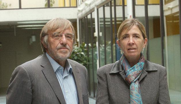 Emilio Huerta y Carmen García Olaverri.