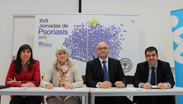 Itziar Sarriá, Mª Pilar Montero,  Javier Garrido y Santiago Alfonso.