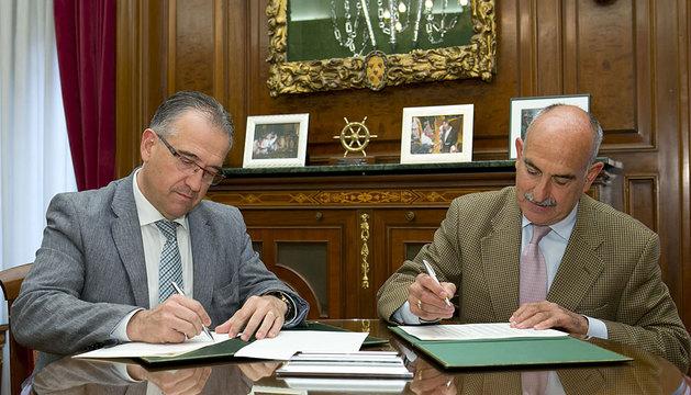 Enrique Maya y Fernando Lizaur.