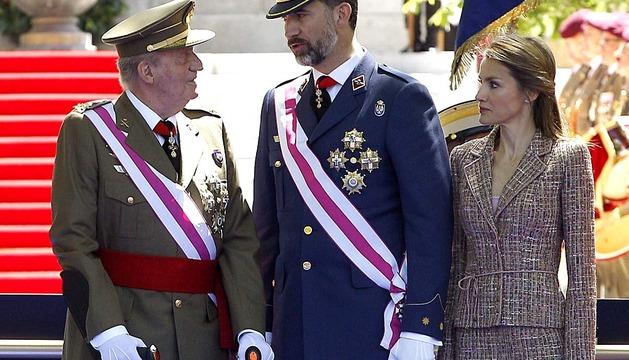 Acto central del Día de las Fuerzas Armadas 2013 en Madrid