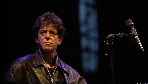 El cantante Lou Reed.