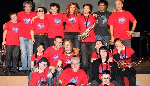 El grupo Motxila 21.