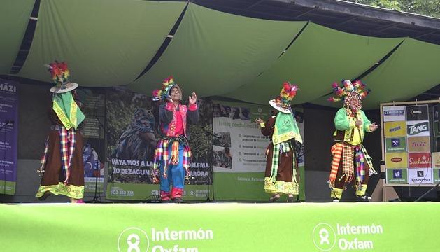 Fiesta de Intermón Oxfam en La Taconera