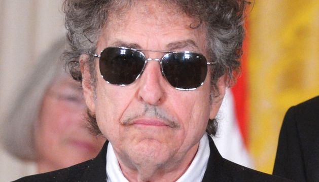 El cantante estadounidense Bob Dylan.